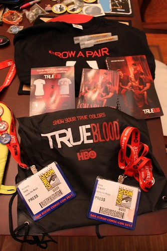 San Diego Comic-Con 2011 free swag
