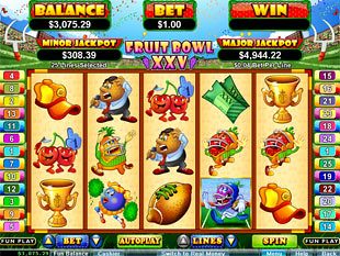 Fruit Bowl XXV Slot Machine