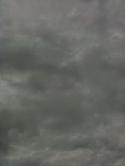 曇天の写真