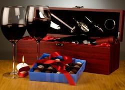 Botellas de vino como regalo en navidades