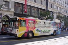 Muni Trolleybus (So Cal Metro) Tags: sanfrancis