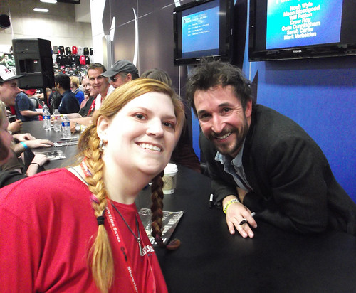 Noah Wyle and me