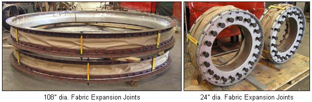 Expansion Joints Fabricated with Silica Fabric Cloth Material