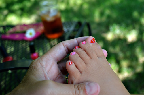 casey foot in my hand by kristin~mainemomma