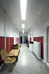 Take Me to the Hospital (Pete Rocks) Tags: summer youth hospital d50 iceland hostel nikon wide corridor super tokina hi hdr 2011 seyisfjrur 1116mm