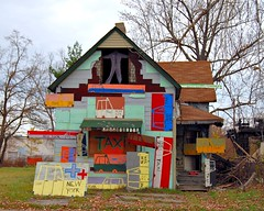 the Heidelberg Project by Tyree Guyton (photo by Patricia Drury, creative commons license)