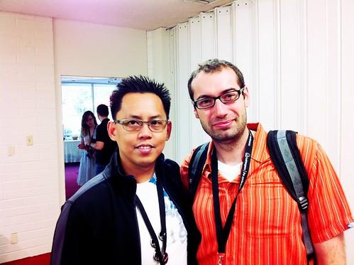 with Alpha Geeky Dawg, Vince Horn