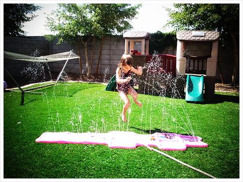 Hayden Splashing