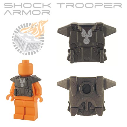 Shock Trooper Armor - Steel (white eagle emblem)
