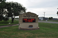 Iroquois Electric Sign 2 (GoTeachSD) Tags: southdakota rural sd iroquois