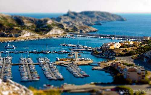 my first try at a Miniature tilt-shift (PS) I´sle de Frioul