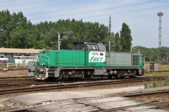 SNCF Fret 460093 in Grande-Synthe