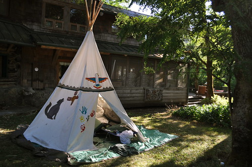tipi, teepee, tepee by water your plants