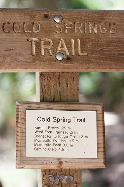 Cold Springs Trailhead
