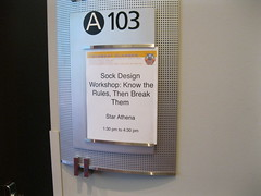 sock design workshop