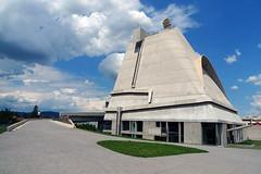 Le Corbusier's Saint-Pierre church (RodaLarga) Tags: france corbusier firminy