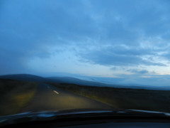 Coming back from Glencree, over the mountains