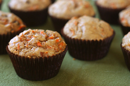 carrot spice muffins 4