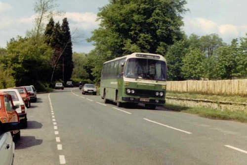 Maidstone & District GKK159V (2159) at Penshurst  16/05/1987