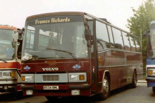 B534BML of Frames Rickards at Canterbury Longport 27/06/1987