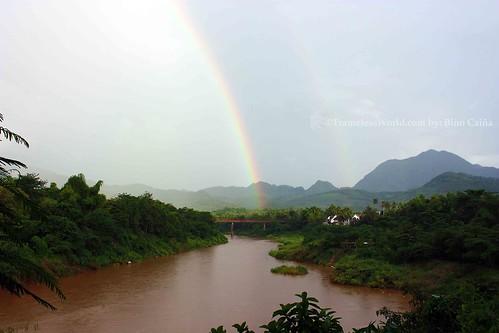 Nham Ka river