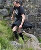 the answer is blowin' in the wind (kilt4142) Tags: black socks kilt legs windy highland knees kilts tartan kilted lifted upkilt