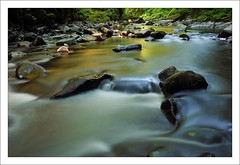 MEP_1695 (Michael Patnode) Tags: reflection water creek photoshop waterfall woods nikon stream slow patnode nikond300s