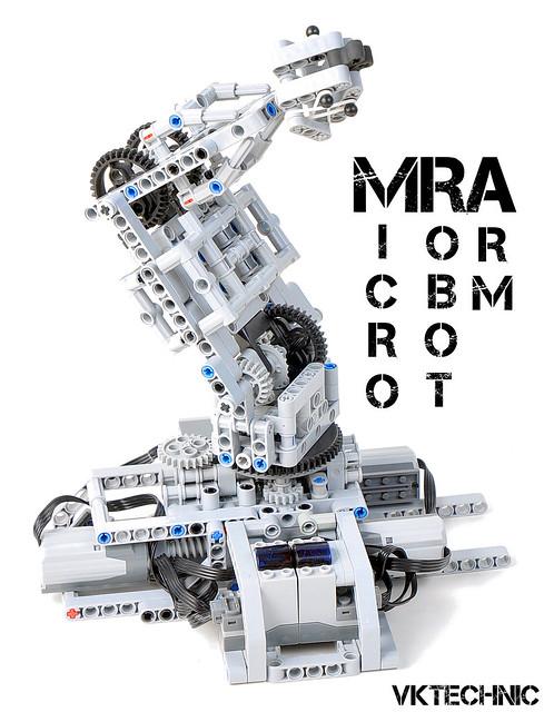 vkyopwnsall's Lego Technic Micro Robot Arm (MRA) - LEGO Technic ...