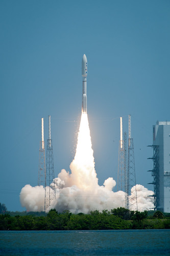 Atlas V Rocket Launches with Juno Spacecraft (201108050001HQ)