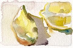lemons tiny painting 2