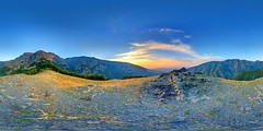 Rai (Heaven), Stara Planina Mountain (geopalstudio) Tags: panorama mountain sunrise waterfall heaven bulgaria rai hdr d60   promoteremotecontrol panomagiceu