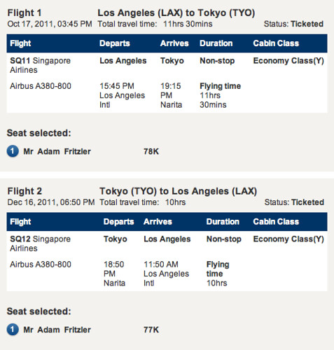 201110 Japan flights
