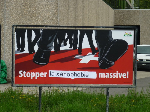 affiche UDC stopper l'immigration massive