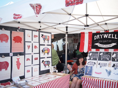 Drywell booth at Renegade LA