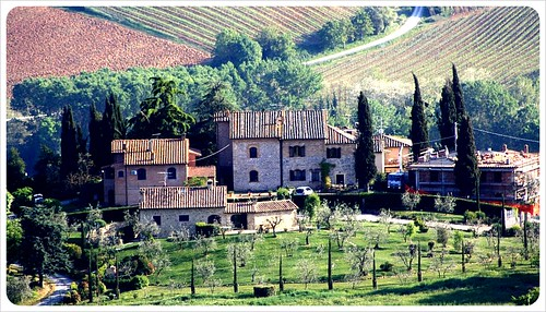 tuscany farmhouse