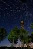 Startrails torreta (Jose Casielles) Tags: color luz noche torre cielo estrellas pinos torreta circulo startrails yecla circumpolar traza torretadevigilancia fotografíasjcasielles