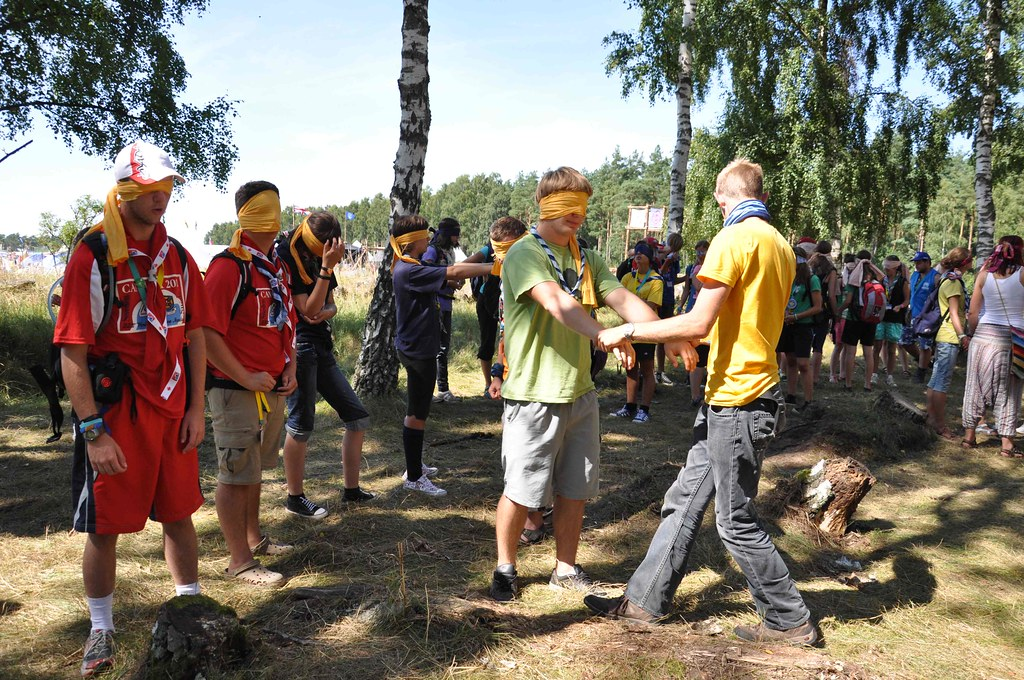 UNHCR News Story: Youngsters humbled by UNHCR reality exercise at World Scout Jamboree