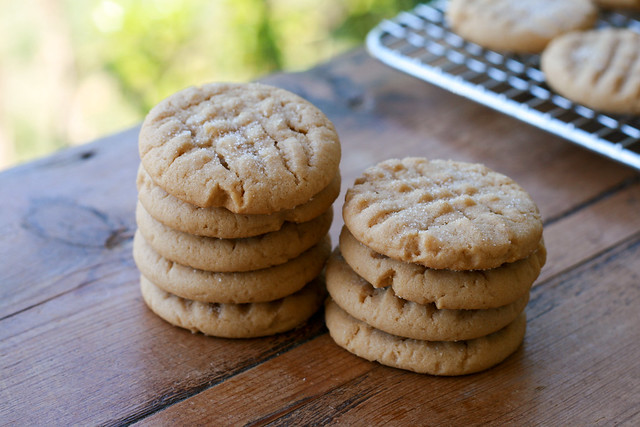 Peanut Butter Cookies - From Miette Cookbook