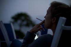Smoke time (@Ambusanga) Tags: ocean blue girls sunset summer sky sun hot dinner canon glow cigarette smoke bbq bikini d7 noblue brunett outdooroslofriendssummerhangoutsmileswinesunsetgrillbbqfoodbluegirlsbikiniswimmingsunglasswindnorwaychillskycloudcanond7sigma