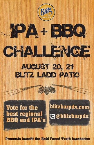 Blitz IPA and BBQ Challenge