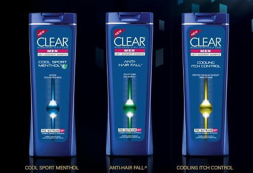 clear-men's range