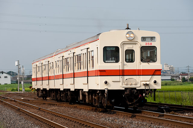 関東鉄道常総線 キハ350形 キハ358+キハ3511