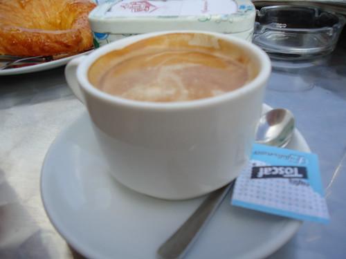 Zaragoza | Cafetería Félix | Café con leche