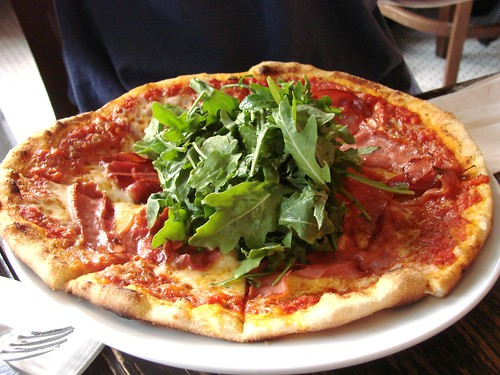 Proscuitto Pizza from Bar Toto