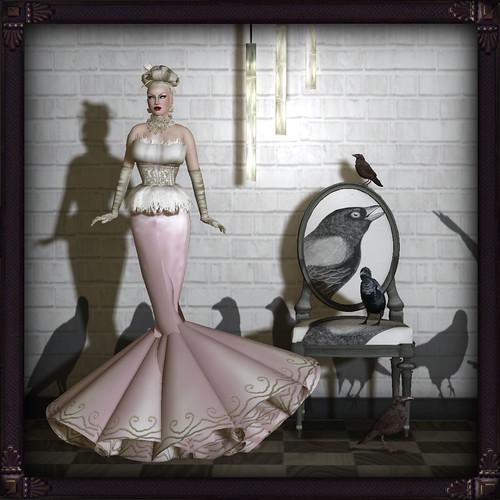 GIULS pink & ravens
