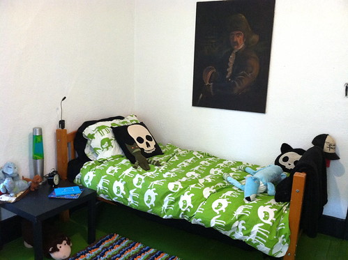 Honor's new room
