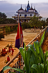 the dream (Pawel Sowa) Tags: red orange color sunshine fun cambodia exposure december religion monks lin pai 2010 dogma pawel sowa pailin