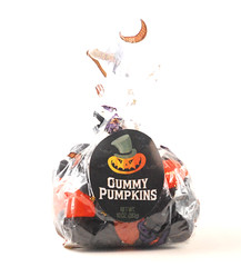 Cost Plus Gummi Pumpkins Bag
