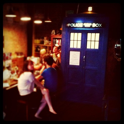 A Doctor Who themed bar in Prospect Heights. It's #geektastic #Brooklyn #bars
