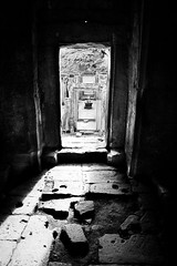 big entrance (marin.tomic) Tags: door travel light blackandwhite bw architecture asian temple ancient nikon ruins asia cambodge cambodia kambodscha southeastasia khmer angkorwat explore doorway tropical siemreap angkor bayon d40